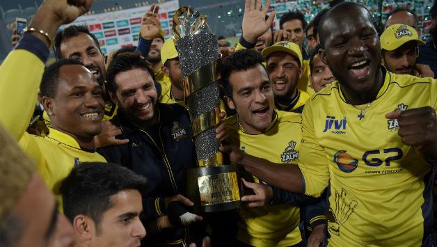 Peshawar Zalmi winners